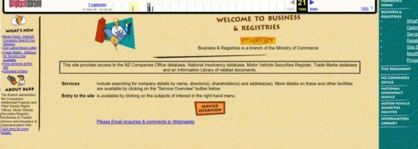 Internet Never Forgets Companies Office Website History