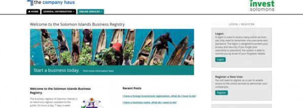 Solomon Islands' business registry Foster Moore