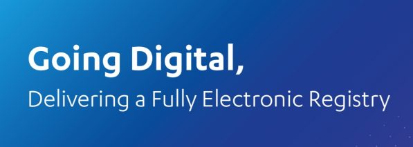 Going Digital Delivery a Fully Electronic Registry
