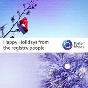 Foster Moore Holiday Greeting 2020